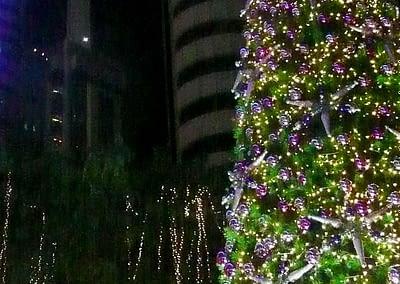 Weihnachtsbaum in Kuala Lumpur