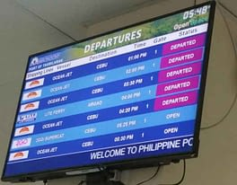 Fahrplan Fähre Cebu